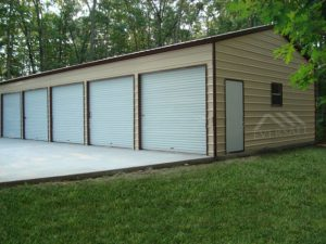 Large Span steel garage