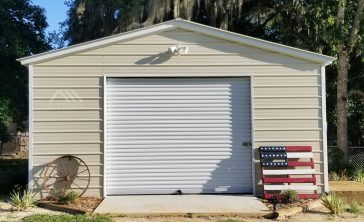 prefab garage building