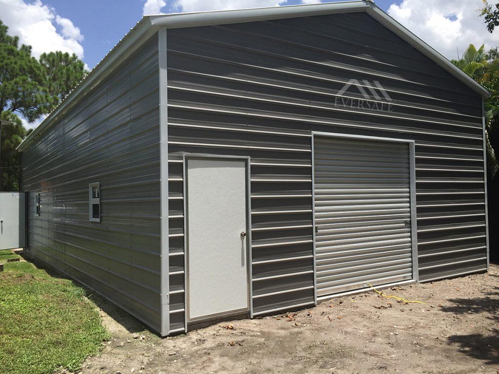 24x30 RV Steel Garage