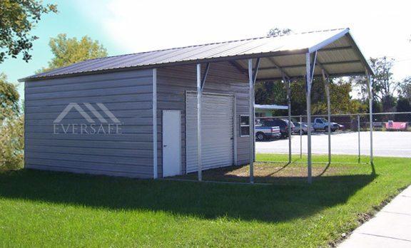 Carport/storage hybrid