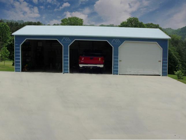 Blue Steel Garage