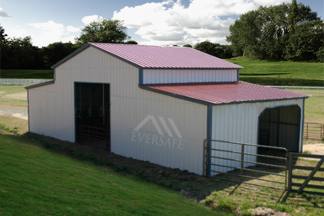 Red Top Monitor Barn