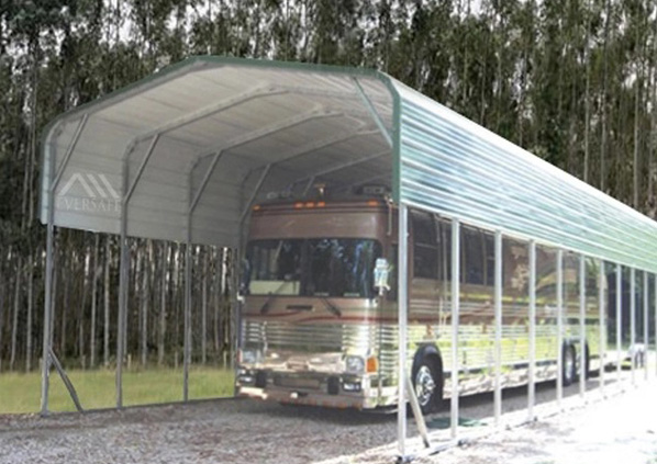 RV Shelter with Regular Roof
