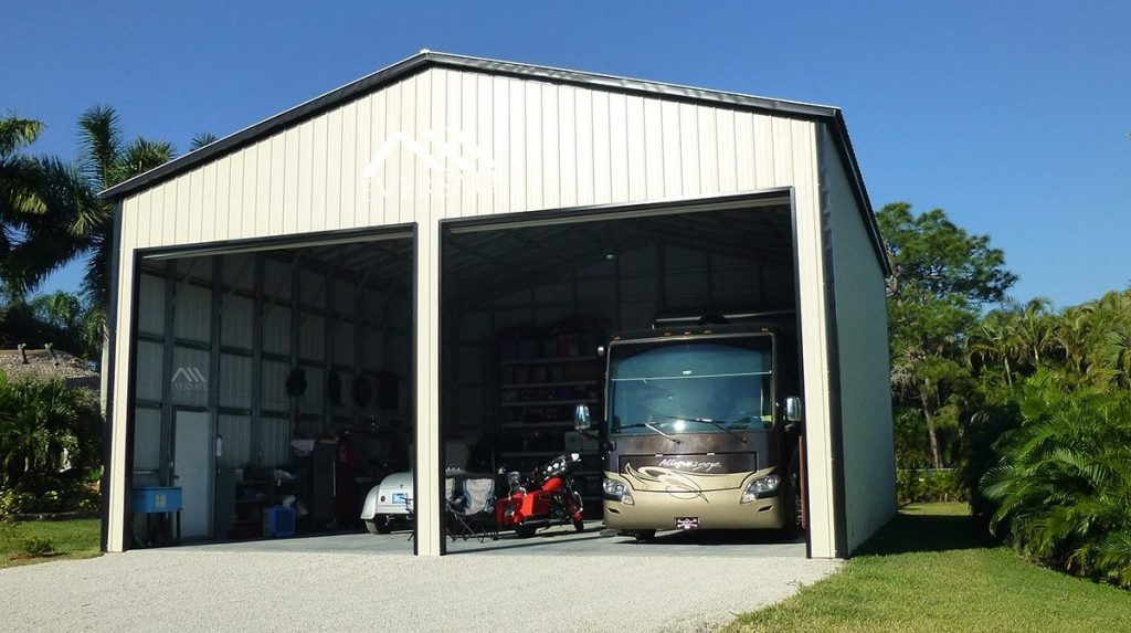 Large RV Storage Garage