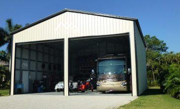 Large RV Storage Garage