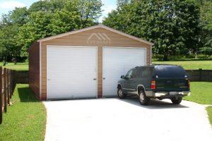 2 car garage in Texas