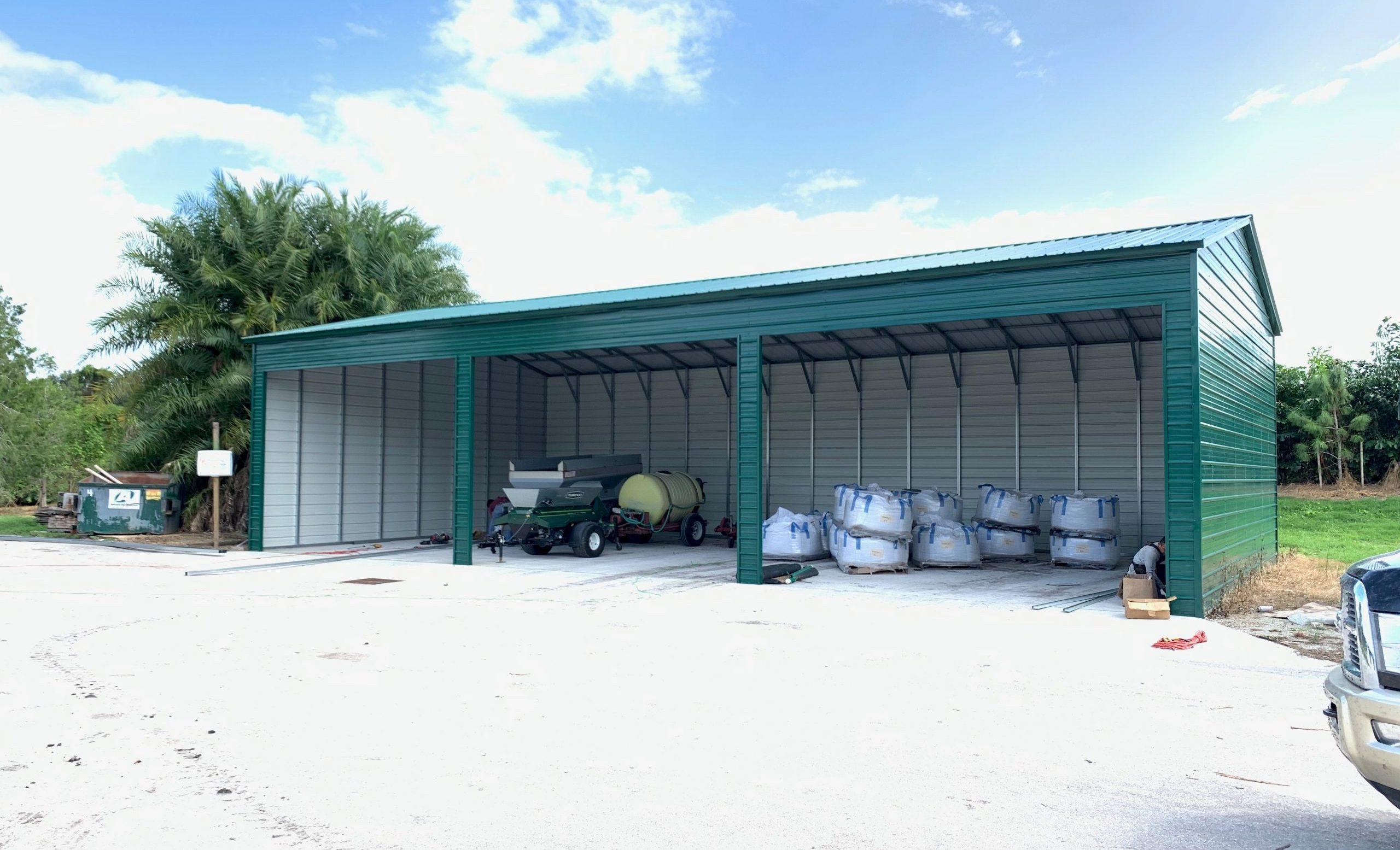30x60 Metal Barn