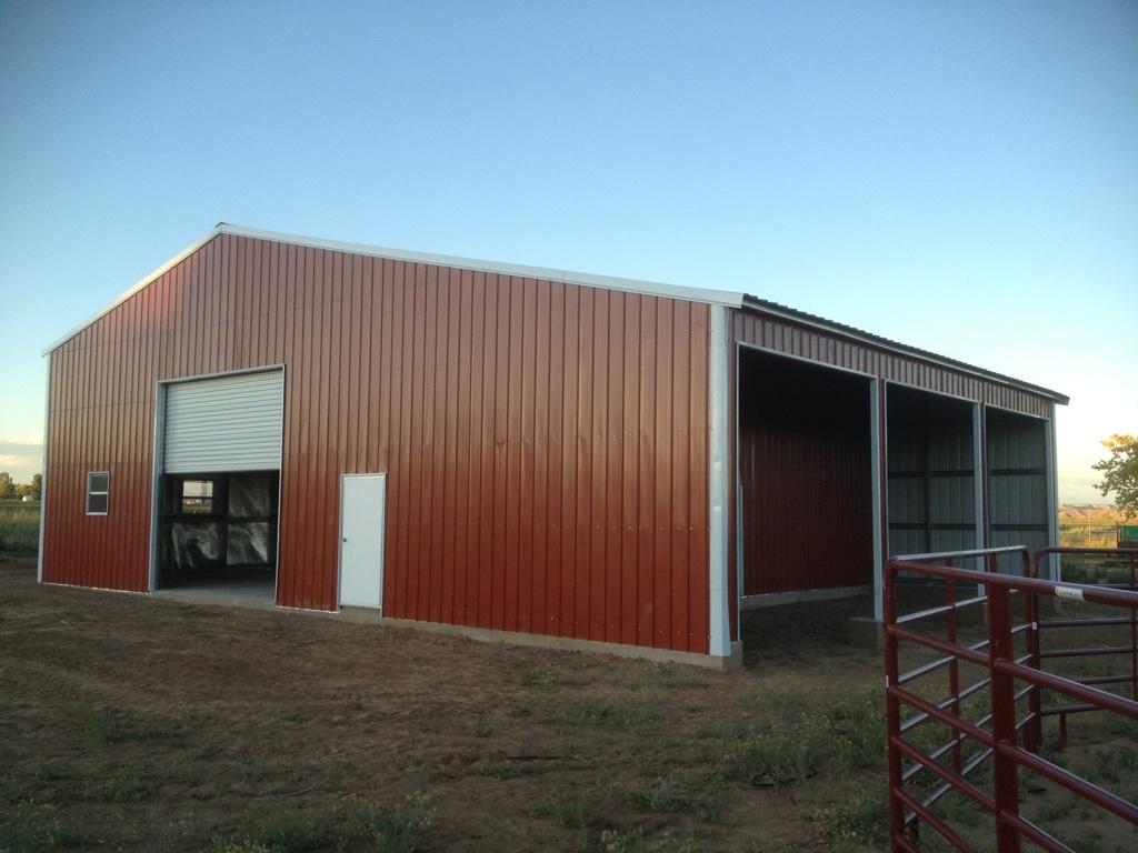 Metal Barn in FLorida