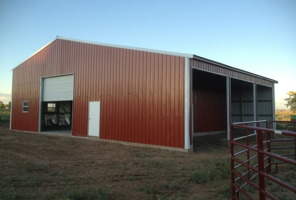40x50 Metal Barn in FL