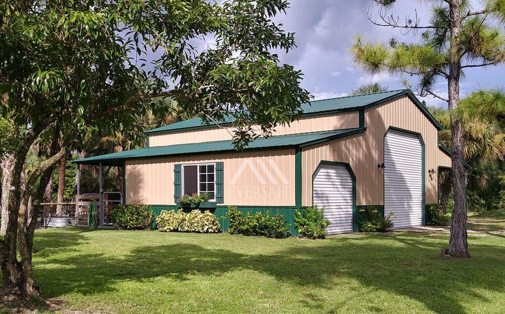 Steel Garage in Florida