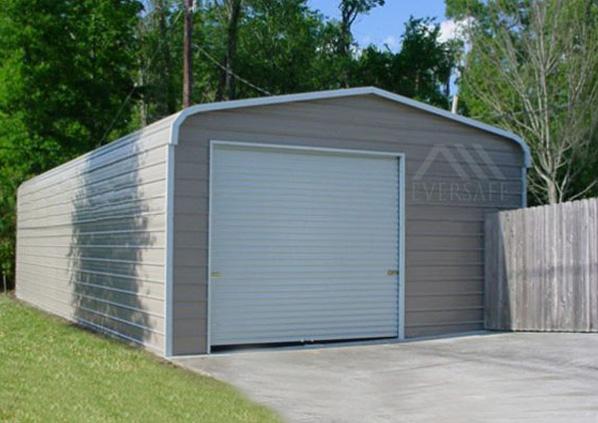 18×25 Offset Storage Garage