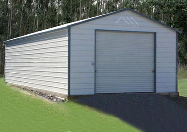 18×25 Steel Garage