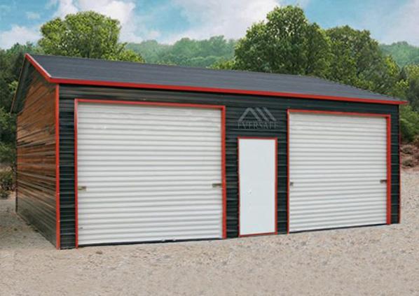 18×30 Steel Garage