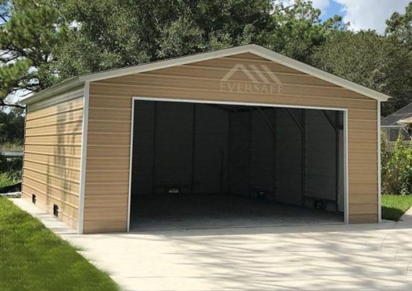 20×25 Steel Garage
