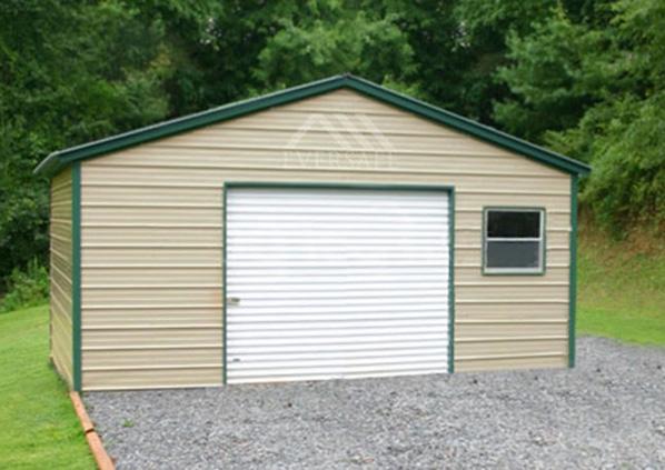 16×20 Steel Garage