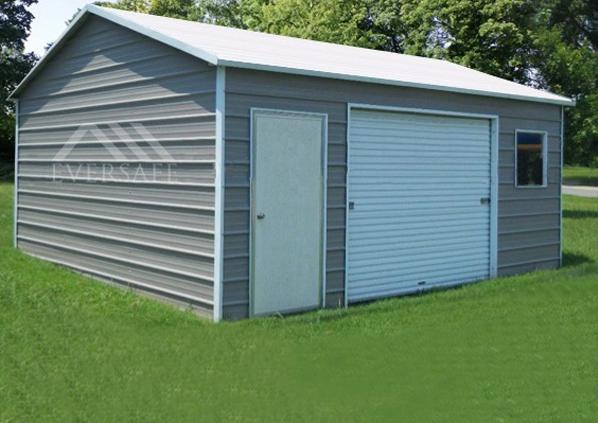 12x18 Steel Garage