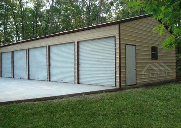 24×60 Steel Garage