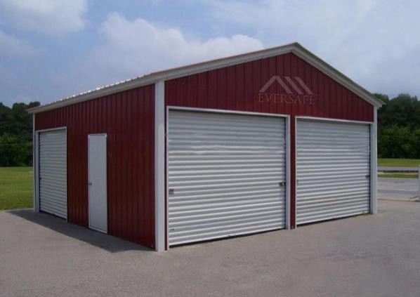 24×25 Steel Garage