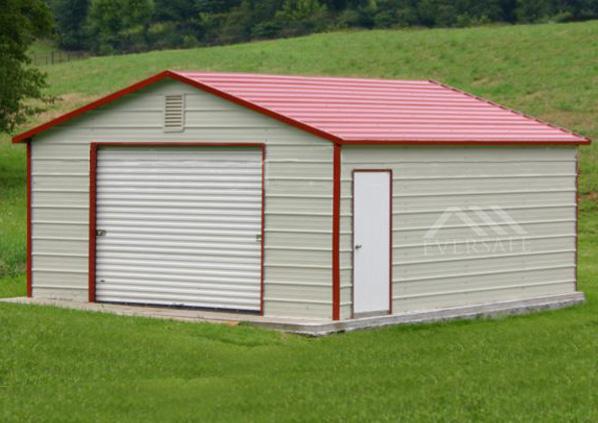14×20 Steel Garage