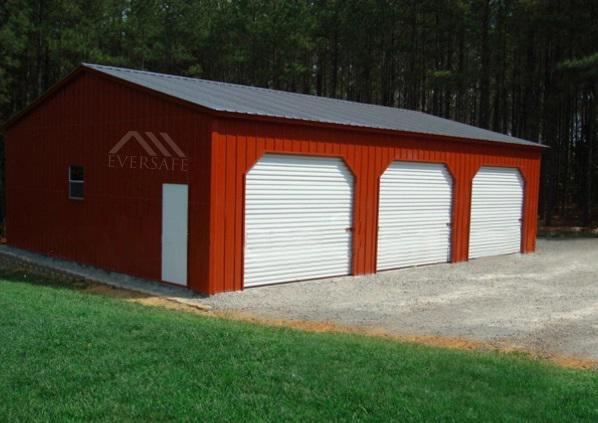 24×35 Steel Garage