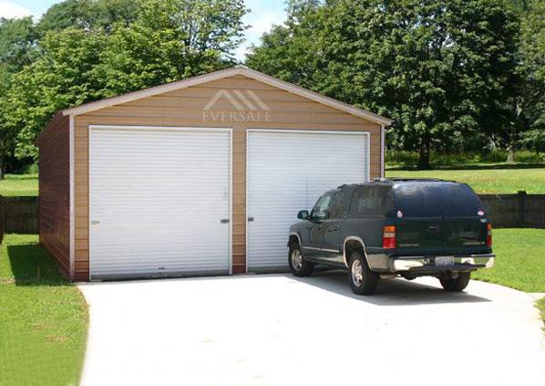 24×30 Steel Garage