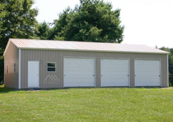 24×40 Steel Garage
