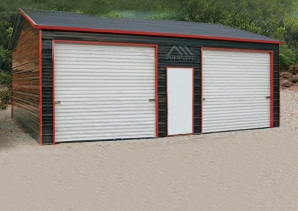 Two Car Garage with Side Entry