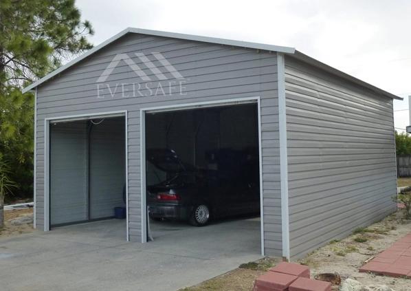Standard Two Car Garage