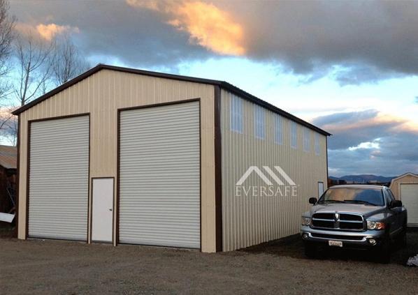 Tall 2 Car Garage Storage